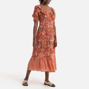 Derhy Vestido comprido SOLOGNE, com motivos   Vermelho Estampado