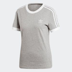 Adidas Originals T-shirt de gola redonda, mangas curtas   Cinzento