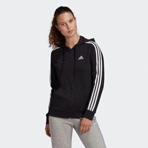 Adidas Performance Casaco com fecho e fecho   Preto