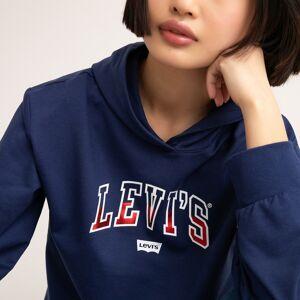Levi's Kids Sweat curta com capuz, 4-16 anos   azul