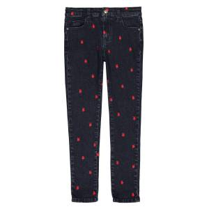 La Redoute Collections Jeans slim bordados, 3-12 anosEstampado- 4 anos (102 cm)