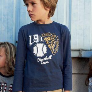 La Redoute Collections Camisola de mangas compridas, 3-12 anosMarinho- 3 anos (94 cm)