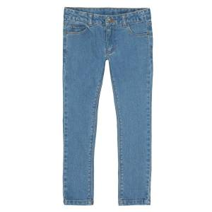 La Redoute Collections Jeans skinny morfologia larga, 3-12 anosAzul Double Stone- 3 anos (94 cm)