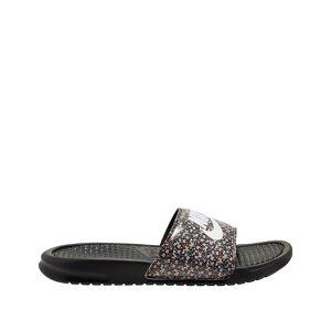 Nike Chinelos Benassi Just Do It   preto/violeta