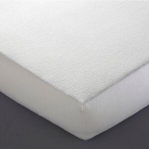 Resguardo para colchão, moletão, antiácaros   Branco