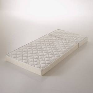 Colchão em espuma com 2 partes, cama evolutiva para criança   Branco