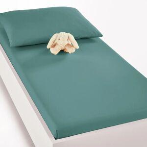 Lençol-capa para bebé em algodão bio, Scenario   azul nórdico