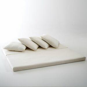 Colchão e almofadas para sofá Giada   cru