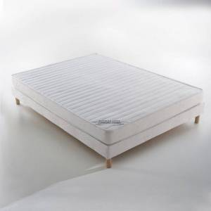 Colchão de látex, conforto firme   Branco
