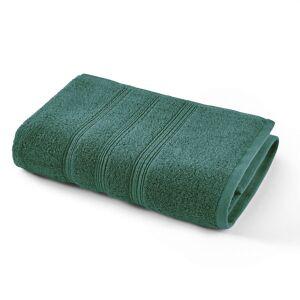 Toalha de banho lisa em algodão biológico 600g/m², Scenario   verde-floresta