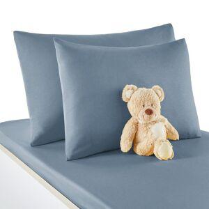 Fronha de almofada  para bebé, em algodão, Scénario   Azul-acinzentado