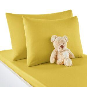 Fronha de almofada  para bebé, em algodão, Scénario   Amarelo