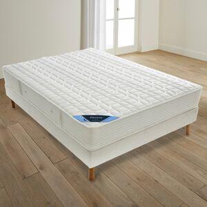 Reverie Colchão com molas, em lã e espuma, grande conforto firme   Branco