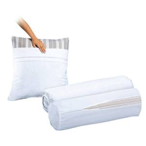 Subfronhas para almofada em jersey puro algodão   Branco