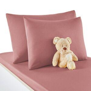 Fronha de almofada  para bebé, em algodão, Scénario   rosa sombra
