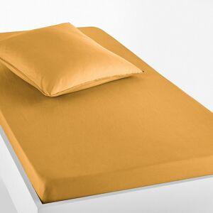 Lençol-capa para criança, em algodão lavado, Scenario   amarelo-cari