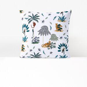 Fronha de almofada em algodão biológico, Petite Jungle   Estampado