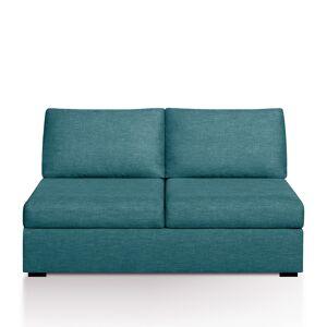 Sofá-cama Robin, Bultex, mesclado   Azul-Petróleo