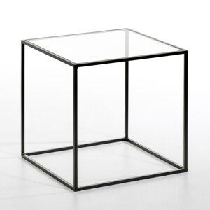 Am.pm Mesa de apoio Sybil, tampo em vidro   vidro transparente
