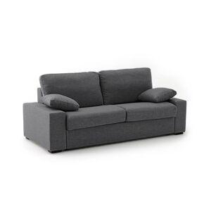 Sofá-cama com colchão Bultex, mesclado, JAVA   antracite