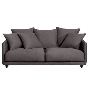 Am.pm Sofá-cama compacto, em viscose-poliéster, Lazare   Antracite