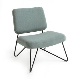 Cadeira vintage acolchoada, WATFORD   verde-acinzentado