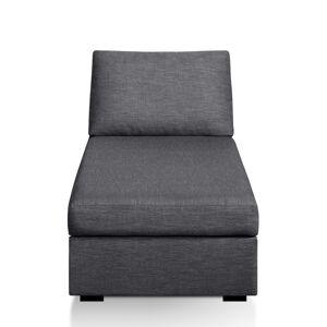Chaise longue mesclada, conforto bultex, Robin   antracite
