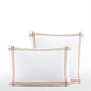Am.pm Fronha de almofada em algodão bio, Otella   Branco/bronze-acobreado