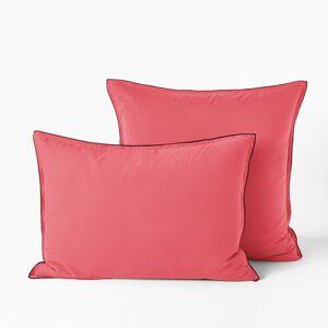 Am.pm Fronha de almofada, voile de algodão lavado, Gypserosa- 65 x 65 cm