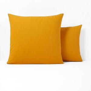 Fronha lisa em poli-algodão, Scenario   Amarelo-Mostarda