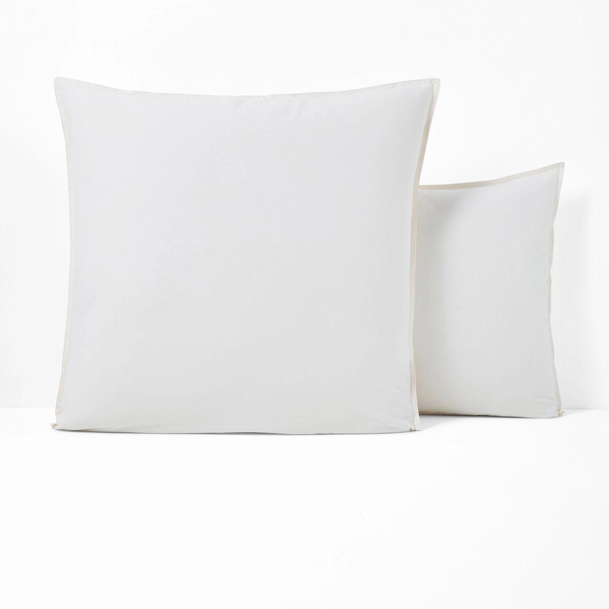 La Redoute Interieurs Fronha de almofada em algodão lavado, SCENARIO   cru