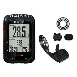 Bryton Aero 60c GPS Ciclismo, Unisex Adulto, Negro, M