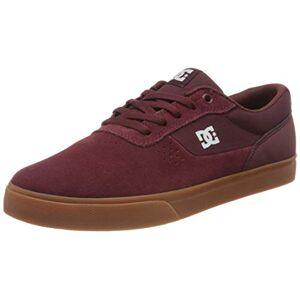 DC Shoes Switch, Zapatillas de Skateboard para Hombre, Azul (Burgundy Burgundy), 44 EU