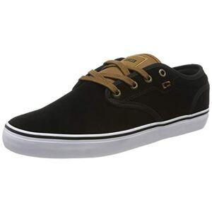 Globe Motley, Zapatillas de Skateboard para Hombre, Negro (Black Suede/Toffee 20462), 42 EU