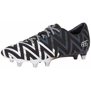 Canterbury of New Zealand Phoenix 2.0 Soft Ground, Zapatillas de Rugby Unisex Adulto, Negro (Black Adult Unisex), 40.5 EU