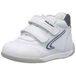 Pablosky 061902, Zapatillas de Estar por casa Bebé Unisex, Blanco (Blanco Blanco), 23 EU