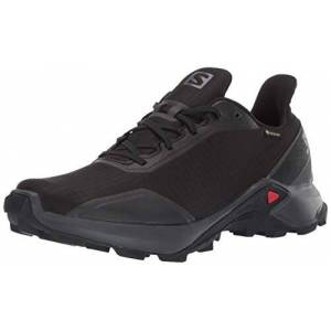 SALOMON Alphacross GTX, Zapatillas de Trail Running para Hombre, Negro (Black/Ebony/Black), 44 EU