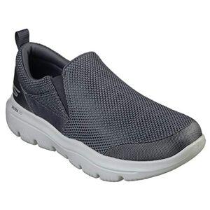 Skechers Go Walk Evolution Ultra-impec, Men's Slip On Trainers, Grey (Charcoal Textile Charcoal), 6 UK (39.5 EU)