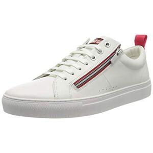 HUGO Futurism_Tenn_nazc 10214585 01, Zapatillas para Hombre, Blanco (White 100), 42 EU