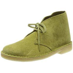 Clarks Boot, Botas Desert para Mujer, Verde Khaki Suede, 37.5 EU