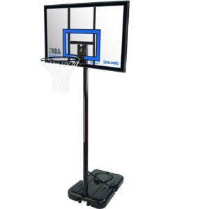 Spalding NBA Highlight Acrylic Canasta Portable, Unisex Adulto, Transparente, 42