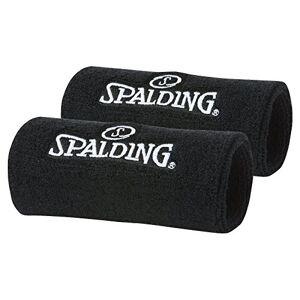 Spalding Muequeras, color negro, talla nica (pack de 2 unidades)
