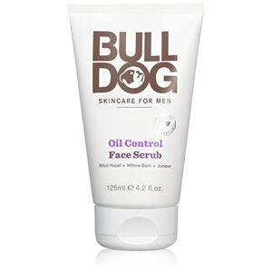 BULLDOG SECURITY BullDog Oil Control Face Scrub para hombres, 125ml, pack de 4