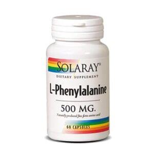 Solaray L-FENILALANINA 500 mg 60 Caps
