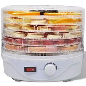 Casa Practica Deshidrator de alimente cu 6 tăvi rotund