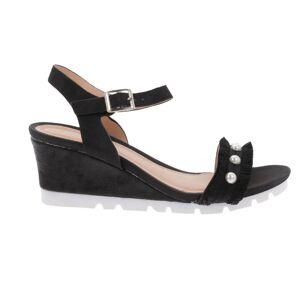 MARIBON Sandale Dama cu Platforma MARIBON Negru