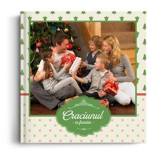 PhotoGo Fotocarte Craciunul In Familie - Standard, coperta moale - Patrat mediu (20x20 cm)