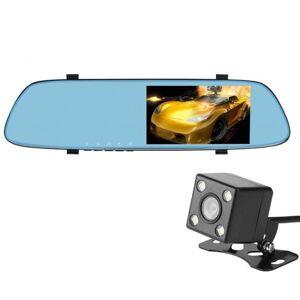 Camera Auto Oglinda iUni Dash T22, Dual Cam, Touchscreen 5 inch, Full HD, G Senzor by Anytek