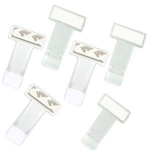 Set 6 suporturi de parbriz pentru diferite documente