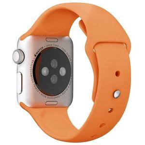 Apple Curea pentru Apple Watch 38 mm Silicon iUni Orange
